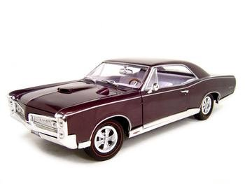 1967 Pontiac Gto 1:18 Ertl Elite Ltd. Diecast Model