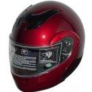DOT Full Face Winebur Modular Motorcycle Helmet NEW