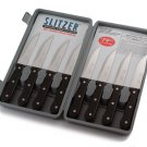 Slitzer 8pc Professional German Style Jumbo Steak Knives