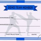 Demo Team Member Certificate - #11385116