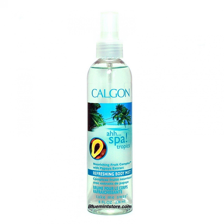 Calgon Ahh Spa Tropics Body Mist 8 oz (Pack of 4)