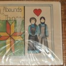BEAUTY ABOUNDS IN SIMPLE THINGS X STITCH CARD NIP