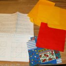 PATCHWORK PILLOW KIT- PRETTY COLORS AND FLOWERS
