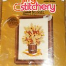 WHEAT BOUQUET FROM SUNSET NICE FLOWER PICTURE NIP