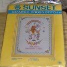 """SUNSET """"RAINBOW FRIENDS"""" SAMPLER - RAINBOW,TEDDY BEAR"""