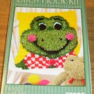 FROGGY PILLOW KIT FROM CARON - CUTE NEW IN BOX