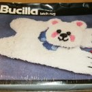 FURRY BEARSKIN RUG FROM BUCILLA - GREAT FOR CHILDREN