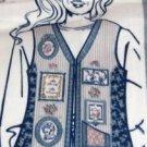Daisy Kingdom Family Memories Picture Vest Panel-Pretty