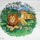 Lion Screen Print Design - Tote Bag,Shrit,Pillow