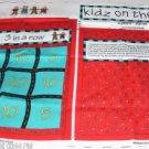 Tic Tac Toe Game Fabric Panel Game Board #2