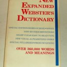 New Expanded Websters Dictionary,1988,Words & Meanings