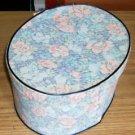 Pretty Blue Floral Handmade Box