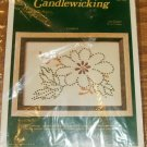 FLOWER CANDLEWICKING PICTURE - NEEDLEMAGIC-EASY TO DO
