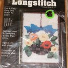 FLORAL BASKET LONGSTITCH KIT  BY PEGGY WARD - NIP