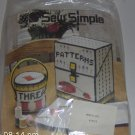 SEW SIMPLE THREAD BOX BUCKET,NEW IN PACKAGE