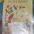 BUCILLA NOTES TO REMEMBER WOOD WALL PANEL - PRETTY