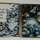 Sweet Kitten Glass Frame Greeting - Nice For Friend