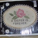 SISTER IS A FRIEND FOREVER - ROSE - PRETTY PICTURE