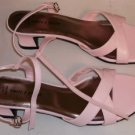 White Stag Pink Sandal, Size 8, Buckle Strap, Pretty