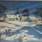 AVON COUNTRY SNOWSCAPE- BEAUTIFUL WINTER SNOW SCENE