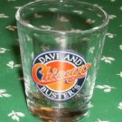 Dave & Buster's Collectible Chicago Shot Glass