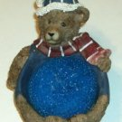 Lazy Bear Scratch Pad/Soap Pad Holder, Nice for Sink