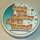 Bring The Holiday Spirit Home Christmas Tin, Cute
