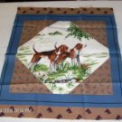 Hunting Dog Panel - Pretty Panel for a Hunter Picture