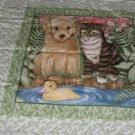 Kitten & Puppy Pillow Panel - Pals - Make Grt Pillow