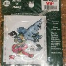 GOOSE STITCH N HANG CUTE ORNAMENT NIP