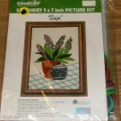 WONDERART SAGE PICTURE KIT VINTAGE EASY TO DO NIP