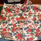 FLORAL BAG WITH POCKET,LIGHTWEIGHT & ROOMY, MANY USES