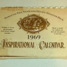 Inspirational Calender From Helen Steiner Rice 1969
