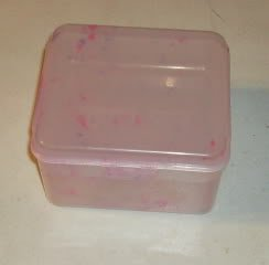 Speckled Snack Container From InZone Inc, New,With Tray