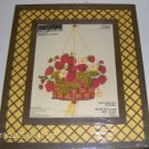 VINTAGE PRETTY PARAGON STRAWBERRY BASKET WITH FRAME