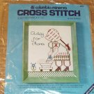 DAY FOR CHORES CUTE X STITCH FROM COLUMBIA MINERVA