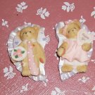 Cherished Teddies Valentine Magnets- Dated 2004-NIB