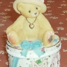 Cherished Teddy Mom Trinket Box - So Cute-Dated 1997