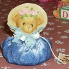 Cherished Teddies Love Floral Sandbag - Cute- New-2001