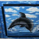 Blue Dolphin Panel, Very Pretty, Nice Pillow
