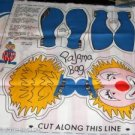 Clown Pajama Bag Panel - Cute Gift For A Little One
