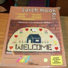 WELCOME HALF MOON RUG KIT FROM RAINBOW MILLS - PRETTY