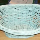 Greenish Blue  Mini Laundry Basket -Holiday Time- Cute