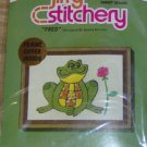 FRED FROG SUNSET STITCHERY - CUTE- NEW IN PACKAGE