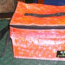 PINK IRIDESCENT INSULATED LUNCHBAG, FUN TO USE. LOOK