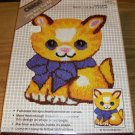 KITTEN BABY ADORABLE WALL HANGING OR RUG  NIB CARON