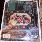 ELEGANCE ROSES RUG KIT , VERY PRETTY, NYC,MUST SEE THIS