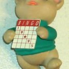 Bingo Bear Ornament - For the Bingo Lover - Cute- Gift
