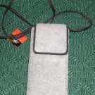 FURRY GRAY WALLET , NEW WITH TAG, FROM SIMPLY STYLE