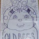 OLD BAG WOOD BAG HOLDER - CONVERSATION PIECE